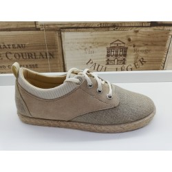 Blucher lino natural y...