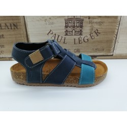 Sandalia de piel Terris...