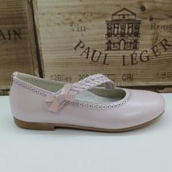 Zapato Ceremonia Nacar Rosa...