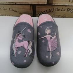 Zapatilla Casa Unicornio -...