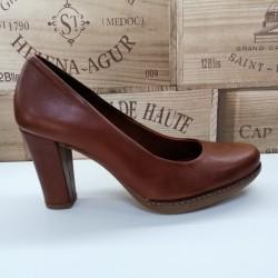 Zapato Tacón Sra. Cuero...